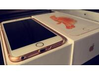 IPhone 6s Plus 32GB Roes Gold,02/Giffgaff