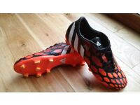 Adidas Predator football boots UK size 9 (used, good condition)