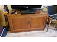 Rosewood TV stand (matching coffee table available!)