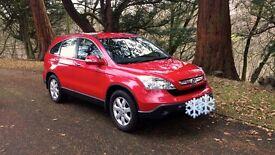 Honda cr-v se cdti new model beautiful Milano red low miles fsh elderly owner genuine lovely car