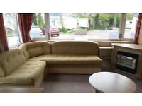 cheap static caravan for sale Rookley country park finance available 12 month season