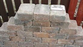Mile Stone walling/edging in corrib. 215mm x 175mm x 100mm. £2.34/block.