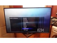 philips 40 freeview full hd tv boxed
