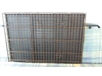 Dog crate medium size - folds flat, will take 2 puppies (£80 new)