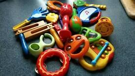 Bundle children's musical instruments