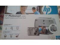 Digital Camera and Printer Dock HP Photosmart A444