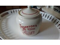 Old Thornton's toffee pot
