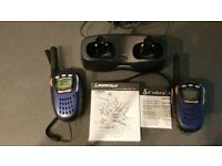Cobra Microtalk MT725 (8 Channels) Two Way Radio Spares Or Repair - 1 Faulty