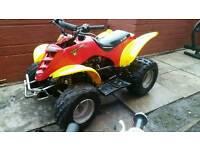 Eton 100 cc race quad