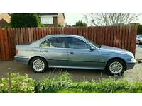 BMW 523i auto 4 door saloon blue