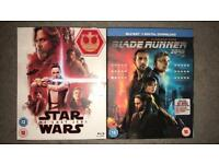 2 Blu-ray DVD's for sale