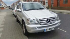Mercedes-Benz ML270 128k miles £2600