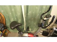 Home exercise bike- ONE BODY- brilliant condition.