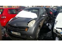 Nissan Micra For Breaking/Spares