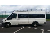 MINIBUS HIRE 15/17 SEATERS WITH DRIVER