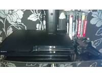 PS3 slim 500gb with 7 games