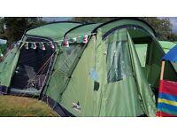 Vango Maritsa 700 tent and camping set up