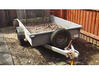 Bateson B64 trailer with ramp tailboard & spare wheel Reasonable condition