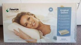 Tempur original queen pillow bnib