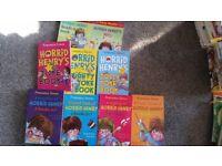 Horrid henry childrens books