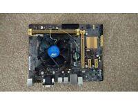Asus H81M-E + Intel Core i5-4460 + Kingston 8Gb RAM