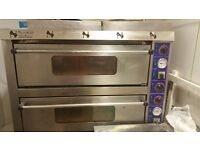 Reduced price .Pizza oven and 4 burner gas cooker for sale