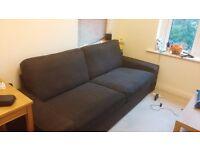 Ikea Kivik Brown 3 seater sofa - Dark Brown - Perfect Condition