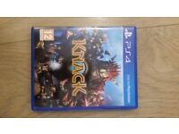 PS4 KNACK - PS4 - MINT CONDITION