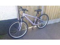 Apollo jewel mountain bike with front suspension