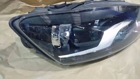 Volkswagen VW Polo Offside wing and Headlight 2014 Job Lot