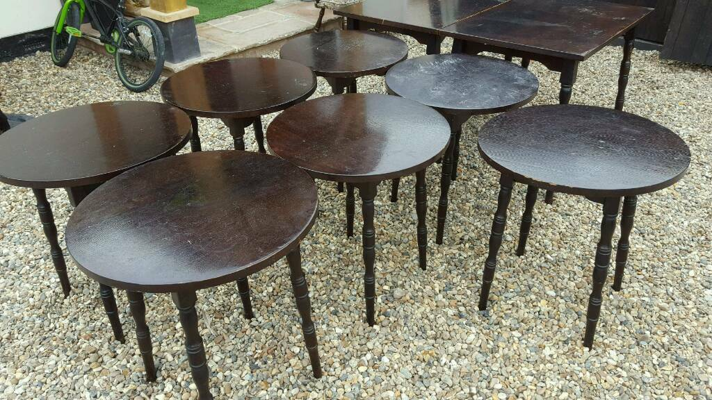 Job lot of restaurant tables - club pub shop hall bar cafe