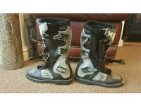 Child's moto x boots