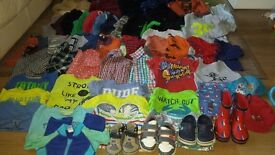 Bundle of clothes for boys 1.5-2-3years.