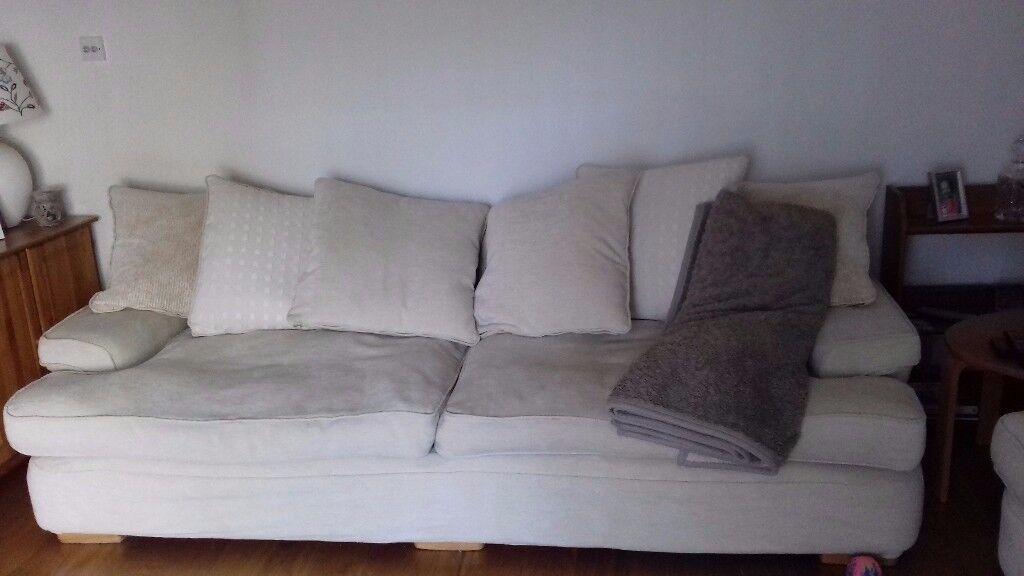2 four seater sofas