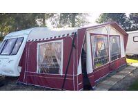 Touring caravan compass corona 524 4 berth 2005