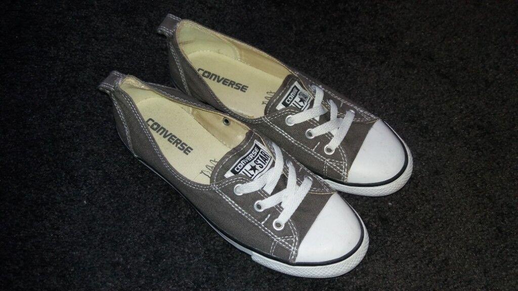 fd8fb244d99f56 Converse Dance Ladies UK Size 5 Grey