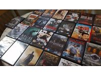 Over 70 DVD's for sale
