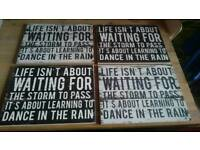 Attractive Inspirational Table mats / Placements (4)