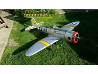 Giant Scale Max Thrust P40N Remote Control RC Plane