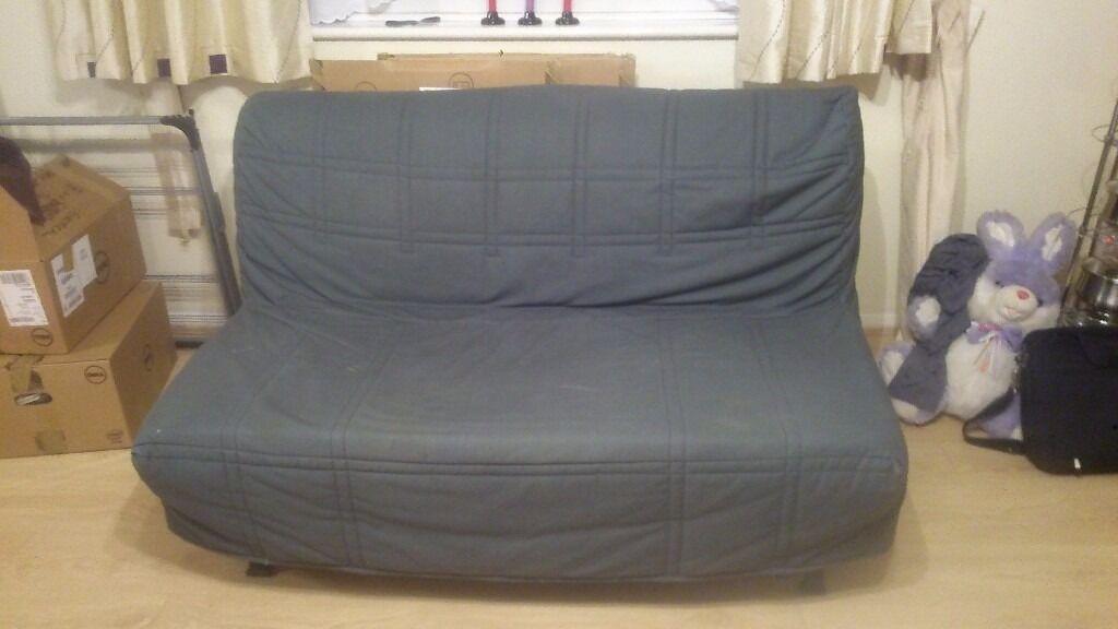 "Ikea ""Lycksele"" Double sofa-bed in grey"