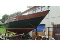 25' SAILING CRUISER GREAT VALUE £3500