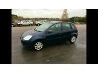 2005 5dr Ford Fiesta 1.4 TD £30 tax a year, FSH, 1 owner BARGAIN