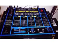 dj mixing deck soundlab stereo graphic equalizer mixer vme-605