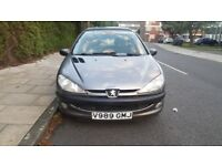 Peugeot 206 Auto 5dr in an excellent condition