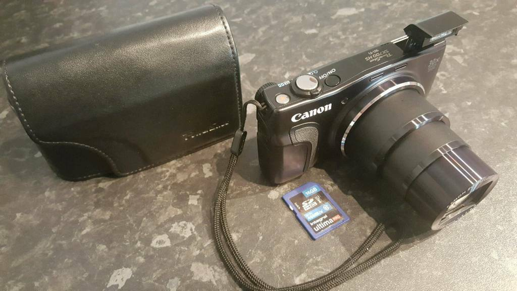 Canon PowerShot SX700 HS 16 1MP digital camera IMMACULATE CONDITION WIFI  NFS GPS   in East End, Glasgow   Gumtree