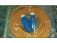 Camping mains power lead 25 metres