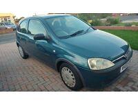 2002 Vauxhall Corsa 1.2 16v Comfort, Full Service History!