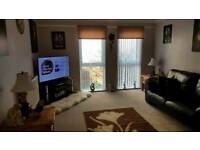 2 bed large flat