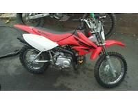 Honda crf 70 2007