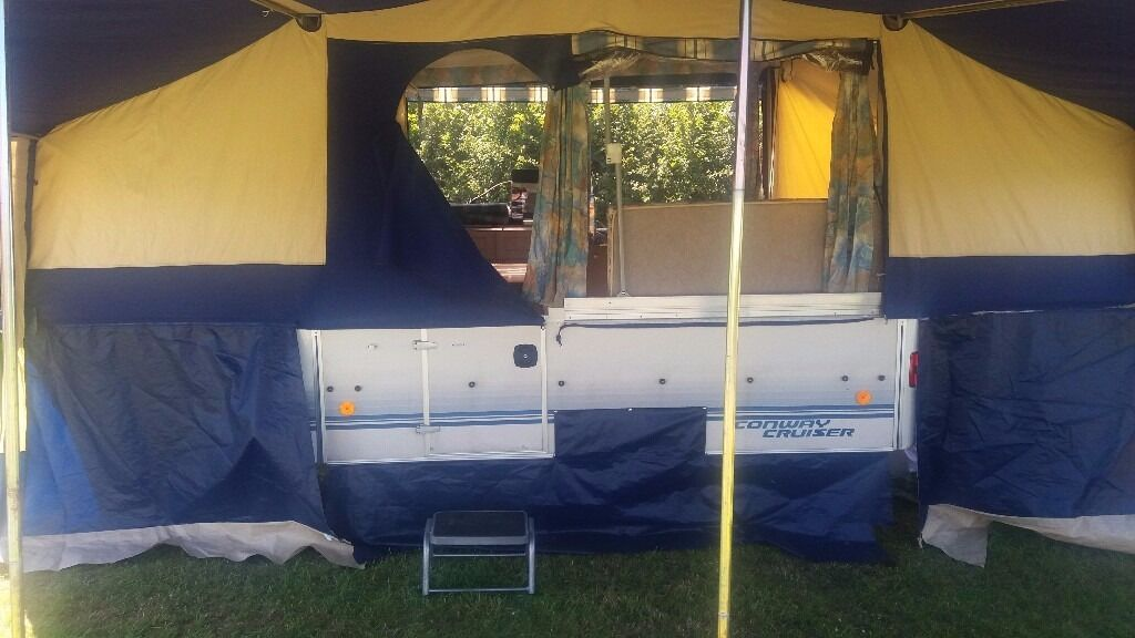 Conway Cruiser 1998 1999 Excellent Condition Full Awning And 2 Sleeping Pods